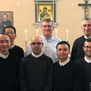 Inauguración del Estudiantado Interprovincial de la CRE en Roma