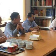 El Padre General se reune con los estudiantes y la comunidad de San Gioacchino