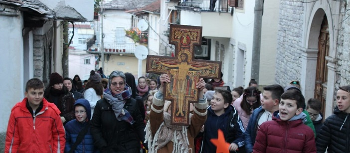 First popular mission – Christmas in Albania